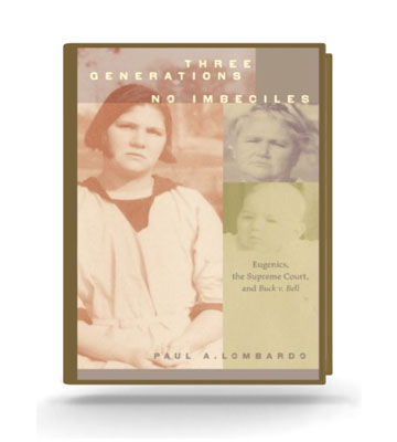 Three Generations No Imbeciles book cover